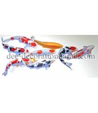 ภาพวาดปลาคราฟ[MR-koi-007]