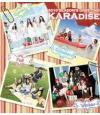 KARA - KARADISE 2O1O Seas๐n's Greeting : DVD 1 แผ่น ++ไม่มีซับ ++