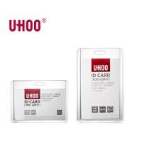 กรอบใส Uhoo แนวตั้ง แนวนอน อคิลิคใสมาก ใส่บัตรพนักงาน บัตรนักเรียน บัตรอื่นๆ สวย ทันสมัย