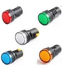 หลอดไพล็อทแลมป์ สีเขียว,แดง ,ฟ้า ,เหลือง ,ขาว ขนาด 220 V