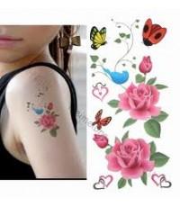 วิธีทำแททู สติ๊กเกอร์ Tattoo stickerกระดาษรูปลอกน้ำ แพค10 ชุด ขนาด A4 โทร. 0899900423
