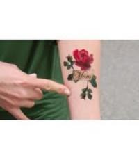 sticker tatoo thailandสติ๊กเกอร์น้ำลายสวยติดหน้ากองเชียร์และงานอีเว้นท์ ลายสักลอกออกได้
