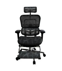 dfprochair เก้าอี้เพื่อสุขภาพ Ergo2-P สีดำ (Ergohuman-Plus)