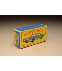 กล่องเปล่า Matchbox Regular Wheels สำหรับรถเหล็ก No.31 Lincoln Continental