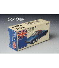 Tomica Original Box No.F 14 (Foreign Series)