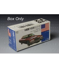 Tomica Original Box No.F 2 (Foreign Series)