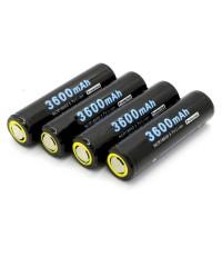 SOSHINE 18650 Li-ion Protected Battery 3600mAh 3.7V