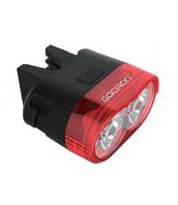 ไฟท้ายจักรยานอัจฉริยะ Gaciron W09 60 lumen ชาร์จไฟ USB คุณภาพเหนือราคา