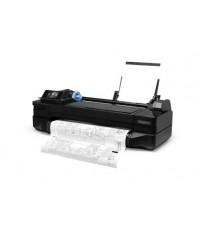 HP DesignJet T120 24-in ePrinter, 70sec/page(A1), 1200dpi, 256MB, LAN, WiFi, HP711, 111y - CQ891A