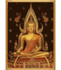 ชุดปักครอสติส KA012-ฺB พระพุทธชินราช ภาพเล็ก