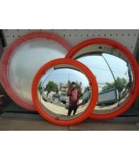 กระจกโค้งชนิดโพลีคาร์บอเนตขนาด 24 นิ้ว รวมประกับขายึด