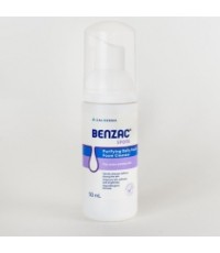 Benzac Spots Foam Cleanser ผลิตภัณฑ์ล้างหน้า แอคแน่สกิน 50มล