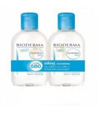 BIODERMA Hydrabio H2O 250 มล. เซ็ตคู่สุดคุ้ม! คลีนซิ่งเช็ดหน้า สำหรับผิวแห้ง ขาดน้ำ
