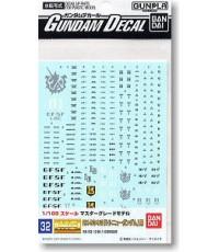 Decal No. 032 : MG Hi Nu Gundam