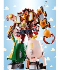 Chogokin Toy Story Super Combination Woody Robo Sheriff Star