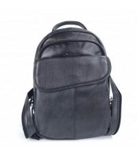 กระเป๋าเป้2สายหนังแท้สีดำ