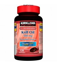 Kirkland  Krill Oil 500 mg. 160 Softgels EXP   AR/2020