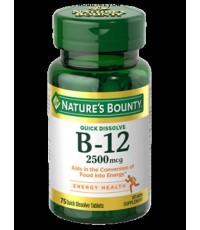 Nature's Bounty® Vitamin B-12  300 เม็ด EXP 01/2020