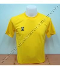 เสื้อกีฬา FLY HAWK รุ่น A 939 (สีเหลือง YG) สีล้วน