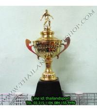 ถ้วยรางวัล SKY1980 รุ่น 002 (สีทอง G) หัวสัญลักษณ์รูป นักกีฬา แบบเดียว