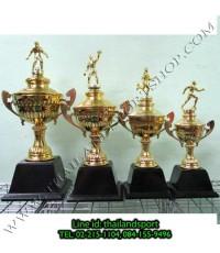ถ้วยรางวัล star1980 รุ่น t13-3 (สีทอง g) หัวสัญลักษณ์รูป นักกีฬา แบบครบชุด n6 net pro ok