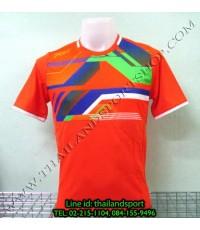 เสื้อกีฬา เอฟ บี ที FBT รุ่น 12-250 (สีส้ม O) พิมพ์ลาย
