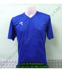 เสื้อกีฬา เรียล REAL รหัส RAX002 (สีน้ำเงิน B)
