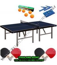 โต๊ะปิงปอง เทเบิลเทนนิส WINNER รุ่น มาตรฐาน กลางแจ้ง OUTDOOR (สีน้ำเงิน B) N5NET