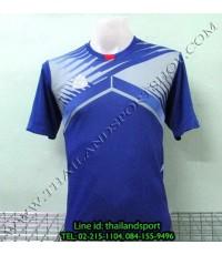 เสื้อกีฬา อีโก้ EGO SPORT รหัส EG-5105 (สีน้ำเงิน B) พิมพ์ลาย