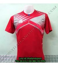 เสื้อกีฬา อีโก้ EGO SPORT รหัส EG-5105 (สีแดง R) พิมพ์ลาย