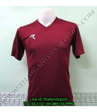 เสื้อกีฬา เรียล REAL  รหัส RAX002 (สีเลือดหมู MU)