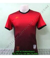เสื้อกีฬา อีโปร Eepro รหัส EA-1005 (สีแดง R) พิมพ์ลาย