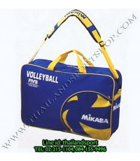 กระเป๋าใส่ ลูกวอลเลย์บอล Mikasa รุ่น VL6B-BL (สีน้ำเงิน B) บรรจุ 6 ลูก