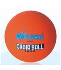 ลูกแชร์บอล MIKASA รุ่น 1800 (สีส้ม O) เบอร์ 5 ยาง