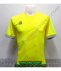 เสื้อ อีโก้ EGO SPORT รุ่น EG-5110 (สีเหลือง Y) พิมพ์ลาย.