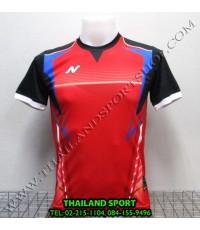 เสื้อกีฬา NEECON รุ่น NA-1502 (สีแดง R) พิมพ์ลาย