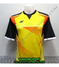 เสื้อกีฬา NEECON รุ่น NA-1502 (สีเหลือง Y) พิมพ์ลาย