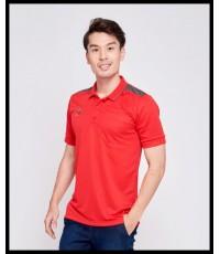เสื้อ POLO อีโก้ EGO SPORT รุ่น EG 6125 (สีแดง R) MAN