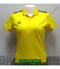 เสื้อ POLO กีฬา อีโก้ EGO SPORT รุ่น EG 6126 (สีเหลือง Y) WOMEN