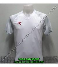 เสื้อกีฬา เรียล REAL รุ่น RAX-006 (สีขาว W) พิมพ์ลาย