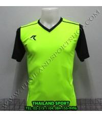 เสื้อกีฬา เรียล REAL รหัส RAX004 (สีเขียวสะท้อน G1)