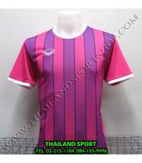 เสื้อกีฬา แกรนด์ สปอร์ต Grand Sport รุ่น 011-445 (สีชมพู P) พิมพ์ลาย