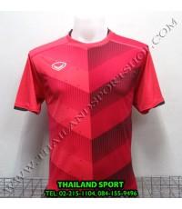 เสื้อกีฬา แกรนด์ สปอร์ต Grand Sport รุ่น 011-447 (สีแดง R) พิมพ์ลาย
