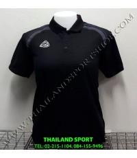เสื้อ POLO อีโก้ EGO SPORT รุ่น EG 6132 (สีดำ) WOMEN