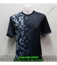 เสื้อกีฬา อีโปร Eepro รหัส EA-1010 (สีดำ) พิมพ์ลาย.