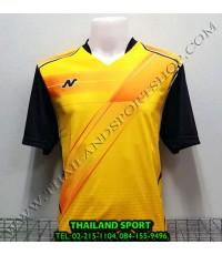 เสื้อกีฬา NEECON รหัส NA-1503 (สีเหลือง)