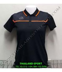 เสื้อ POLO กีฬา อีโก้ EGO SPORT รุ่น EG 6140 (สีดำ) WOMEN