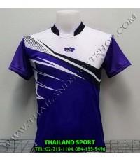 เสื้อกีฬา NAP SPORT รุ่น 15 (สีม่วง) พิมพ์ลาย
