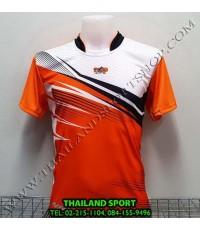 เสื้อกีฬา NAP SPORT รุ่น 15 (สีส้ม) พิมพ์ลาย