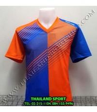 เสื้อกีฬา คอวี พิมพ์ลาย หมี คูล MHEE COOL รุ่น MV2 (สีส้ม)